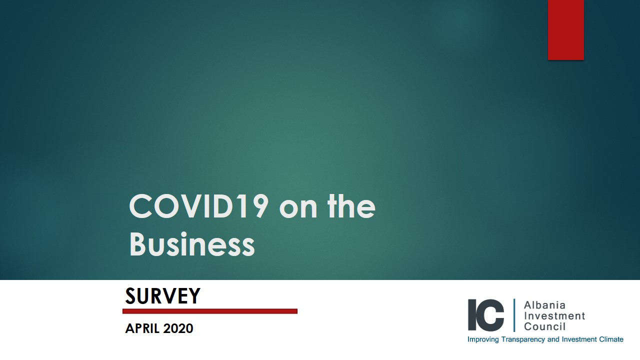 SURVEY ON COVID19 IMPACT